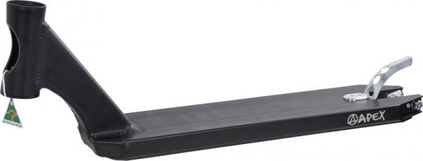 Apex Stunt Scooter Deck 49 cm, schwarz