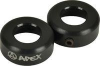 Apex Bar-Ends, schwarz