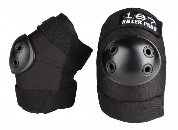187 Killer Pads – Elbow Pad – Black, Erwachsenen-Größe: S