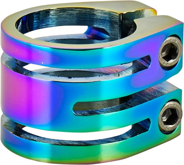 Longway Sector Double Clamp, neochrome