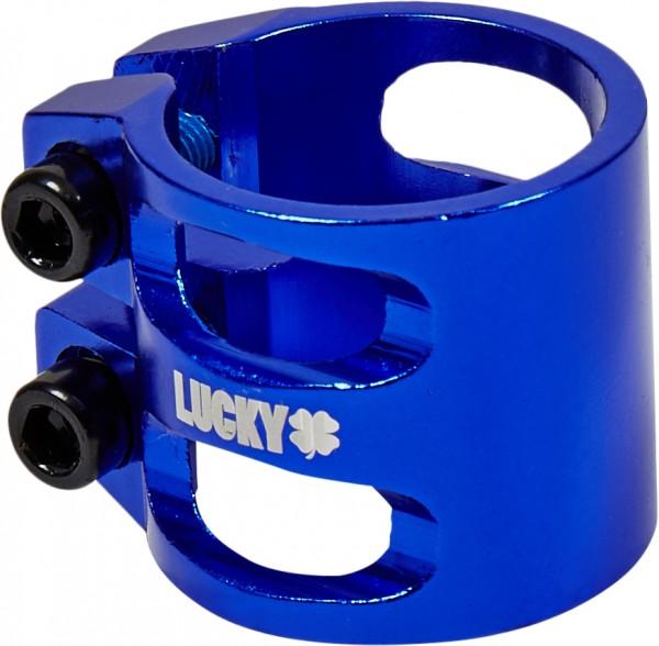 Lucky Double C-Clamp, blau