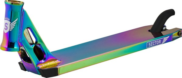 Longway Sector Stunt Scooter Deck, neochrome