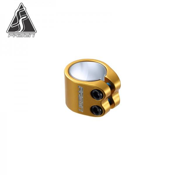 FASEN CLAMP 2 BOLTS, gold