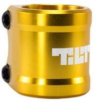 Tilt ARC Double Clamp, gold