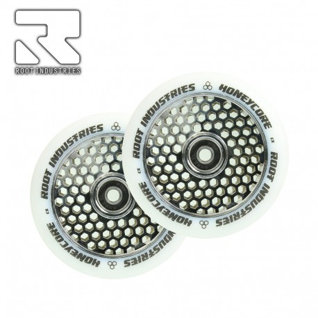 ROOT WHEELS 120MM HONEYCORE WHITE, mirror