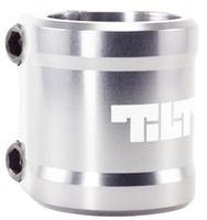 Tilt ARC Double Clamp, silber